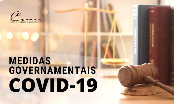 MEDIDAS GOVERNAMENTAIS PARA O COMBATE DA CRISE GERADA PELA COVID-19